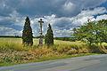 Kříž nad Bukovou směrem na Protivanov, okres Prostějov.jpg