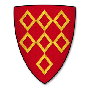 William Ferrers, 3rd Baron Ferrers of Groby - The Ferrers of Groby family armorial, Gules, 7 mascules Or.