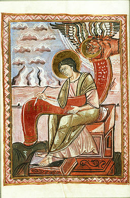 KB 135 F 10 - 47v - The Evangelist St. Mark