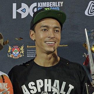 Nyjah Huston American skateboarder