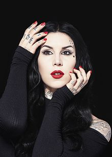 Kat Von D - the hot, sexy,  tv-personality, actress, model, artist,   with German, Italian, Spanish,  roots in 2018