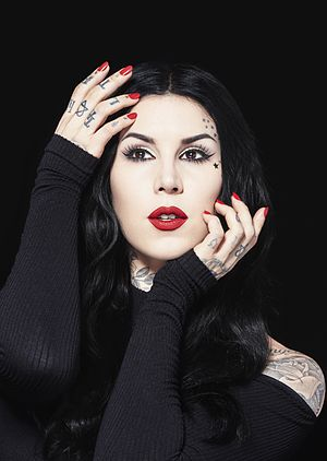 Kat Von D - Von D in March 2016