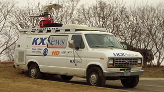 KXMB-TV - Electronic news-gathering unit supporting KXMB and sister stations