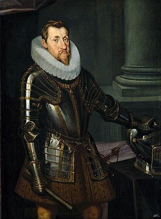 Van Dyke beard - Image: Kaiser Ferdinand II. 1614