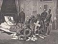 Kaiser Friedrich III auf dem Totenbett in Schloss Friedrichskron (Neues Palais), 1888.jpg