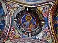 Kakopetria Kirche Agios Nikolaos tis Stegis Innen Kuppel 1.jpg