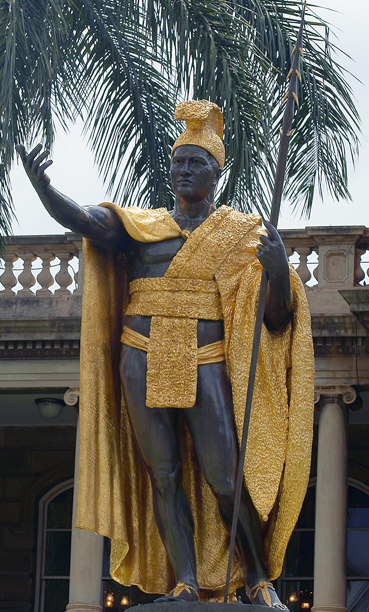 Kamehameha statues - Wikipedia