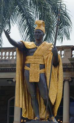 Kamehameha statues
