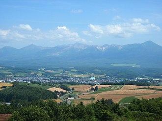 Kamifurano, Hokkaido - View of Kamifurano