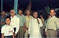 Kanti Biswas Talks Io Media - Dinosaurs Alive Exhibition - Science City - Calcutta 1995-06-15 020.JPG