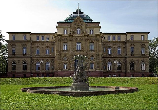 Bundesgerichtshof Karlsruhe (Gebäude)