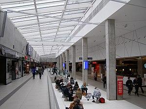 Katowice railway station - Interior of railway station