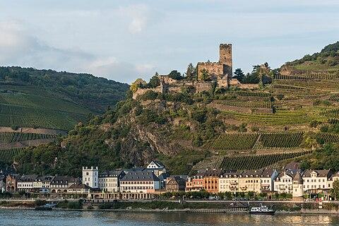 Kaub and Gutenfels Castle
