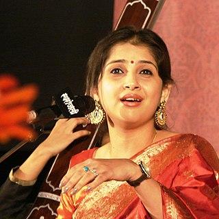 Kaushiki Chakraborty Indian classical vocalist