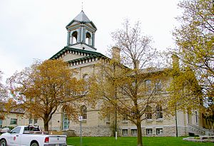 Kawartha Lakes - Kawartha Lakes city hall in Lindsay