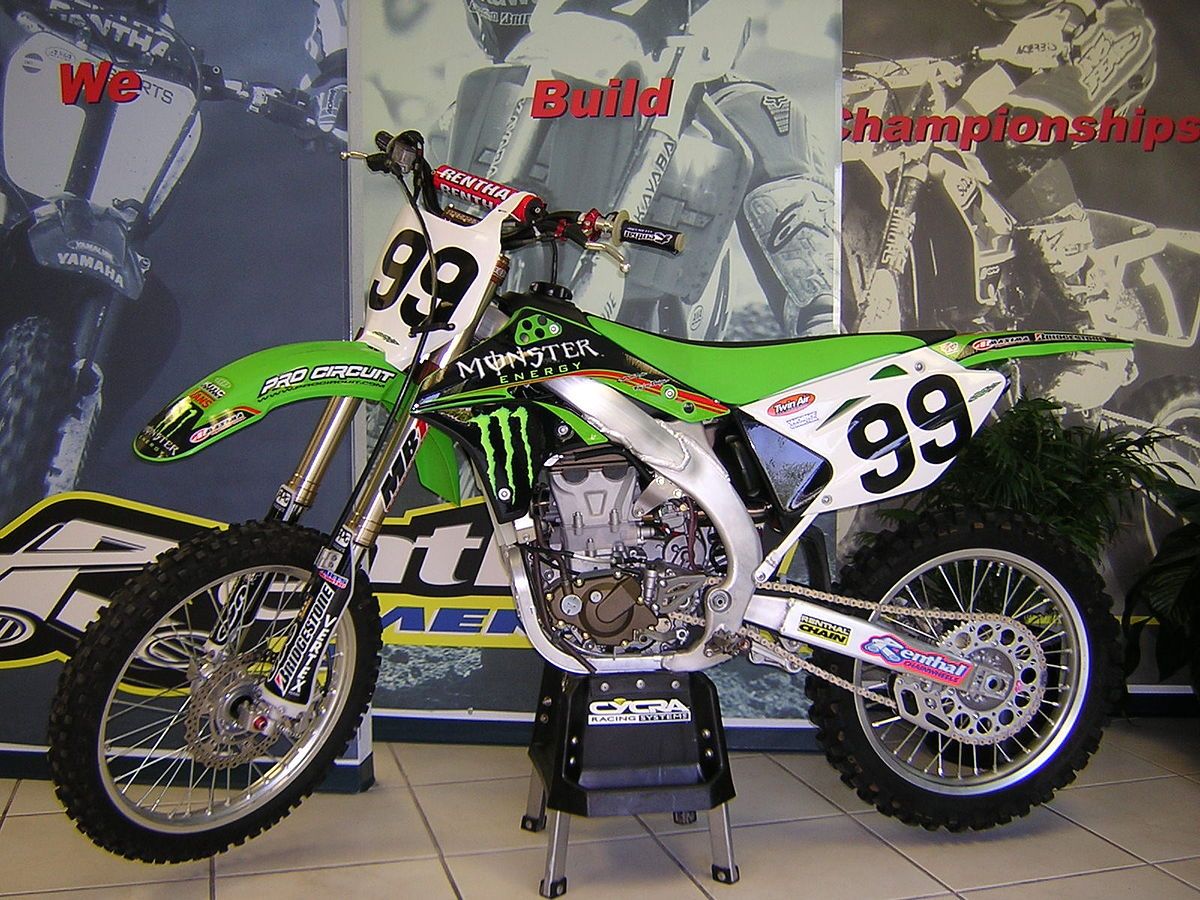 Kawasaki Kx Dirt Bike