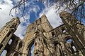 Kelso Abbey - view of tower from below.jpg