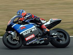 Kenny Roberts Jr au Japon en 2003