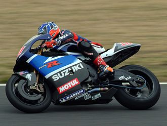 Kenny Roberts Jr. - Kenny Roberts Jr. on the Suzuki GSV-R