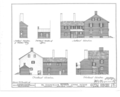 Kensey Johns Sr. House, 2 East Third Street, New Castle, New Castle County, DE HABS DEL,2-NEWCA,5- (sheet 4 of 12).png