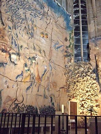 Miquel Barceló - Sculpture in the cathedral La Seu, Palma, Mallorca.
