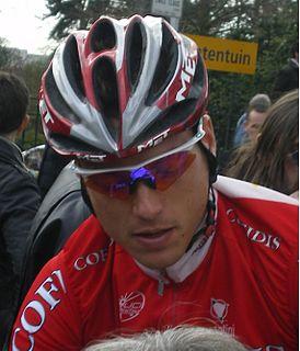 Kevin De Weert Road bicycle racer