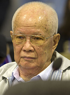 Cambodian war criminal