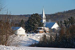 Kiamika, Quebec - Image: Kiamika QC 1