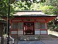 Kibitsuhiko-jinja sessha Koyasu-jinja haiden.JPG