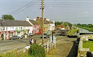 Kilcock Town in Leinster, Ireland