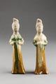 Kinesiska figure, Tangdynastin, cirka 700-talet - Hallwylska museet - 100897.tif