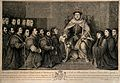 King Henry VIII granting a Royal Charter to the Barber-Surge Wellcome V0006836.jpg