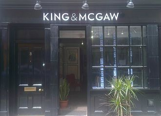 King and McGaw - Pop Up Shop in Soho, London