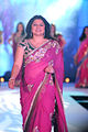 Kiran Juneja walks for Manish Malhotra & Shaina NC's show for CPAA 18.jpg