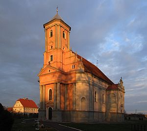 Kopice, Opole Voivodeship - Holy Cross Church