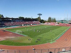 2012 FIFA U-20 Women's World Cup - Image: Komabastadium 1