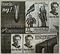 Konservative plakater ved folketingsvalget 1935 (DH007910).jpg