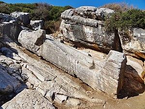 Kouros of Apollonas - Kouros of Apollonas or Colossus of Dionysos