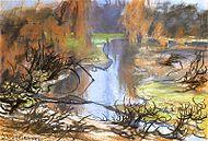 Wyspiański, Rudawa river