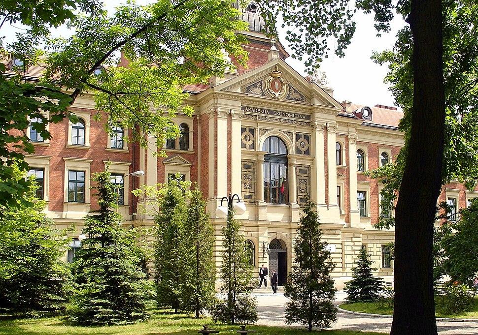 Krakow univesity of economics main building cropped