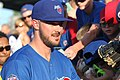 Kris Bryant signing autographs during his rehab assignment against Omaha (30447723328).jpg
