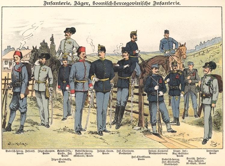 KuK Infanterie 1898