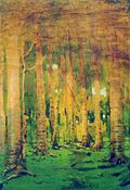 Kuindzhi Birch grove Sunlight spots 1890 1895.jpg