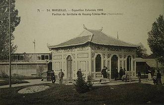 Guangzhouwan - Image: Kwangchowan pavilion 1906