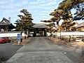 Kyōsen-ji temple, Entarance, Mino, 2018.jpg