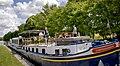 L'Impressionniste Hotel Barge Moored.jpg