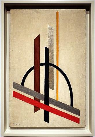 László Moholy-Nagy - László Moholy-Nagy, Architecture (Eccentric Construction), c. 1921, Solomon R. Guggenheim Museum