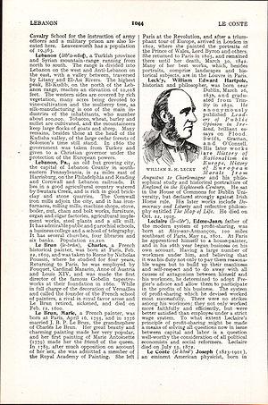 William Edward Hartpole Lecky - LA2-NSRW-3-0034