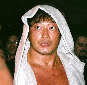 Burning (professional wrestling) - Kenta Kobashi, leader of the first two incarnations of Burning