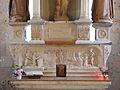 La Douze église maitre autel retable.JPG